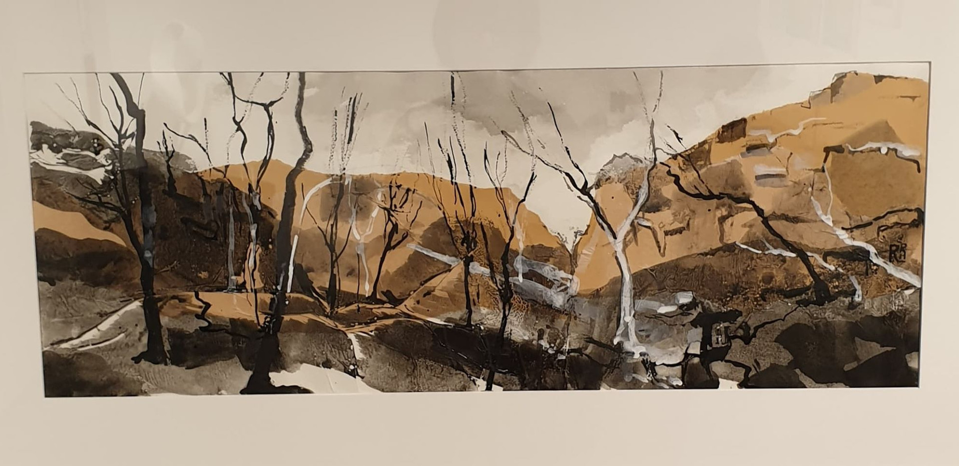 Ruth Hymann || West McDonnel Ranges $650