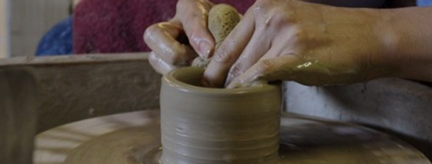 FUN ON THE POTTERY WHEEL Thursday  21st January 9.30am -12.30pm