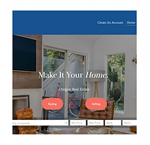 Real Estate Website Design by Dream Escape Design Portland Or