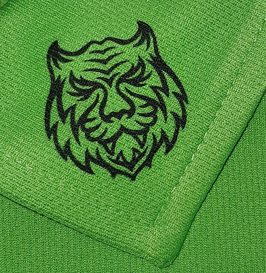 Green in Regulation Tiger Tech Ladies Polo