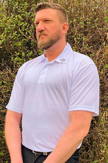 Generic Golf Term White Tiger Tech Men's Polo
