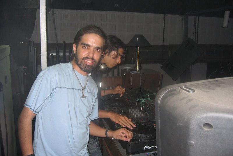 DJ Loch playing at Warehouse nightclub
