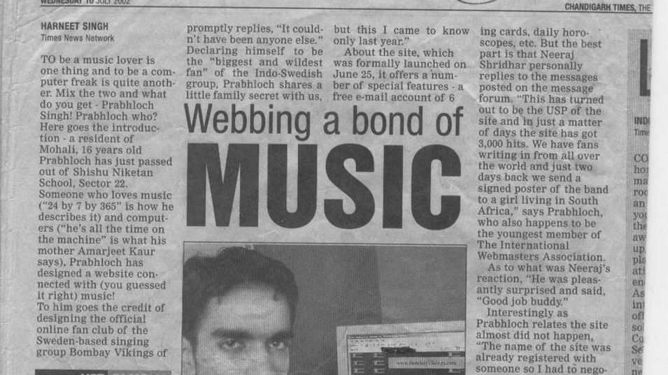 Times of India - 2002