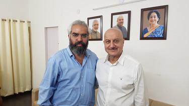 Prabhloch and Anupam Kher