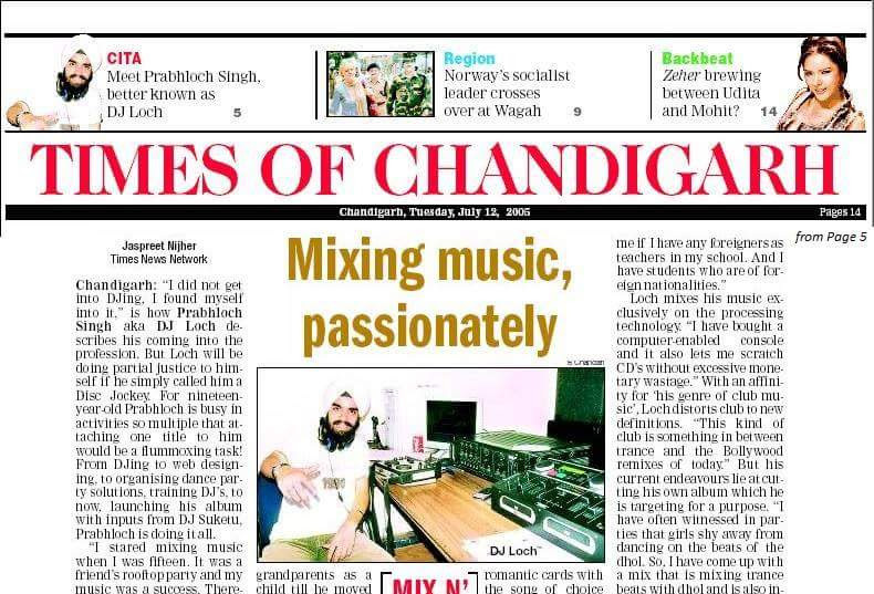 The Times of India - July, 2005