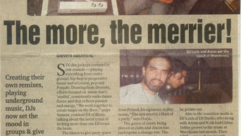 Indian Express - Simplicity (front page) - 2006