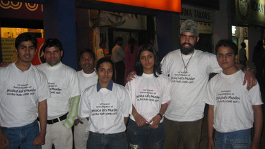 Jessica Lal case protests - March 2006