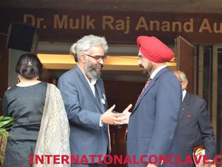 Prabhloch Singh and MLA Kanwar Sandhu