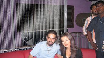 DJ Loch with Celina Jaitley