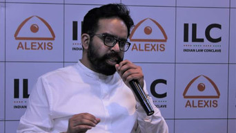 Prabhloch Singh at the Indian Law Conclave