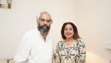 Prabhloch Singh and Kirron Kher