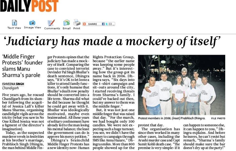 Daily Post - November, 2011