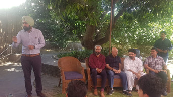Prabhloch Singh with Anupam Kher and others