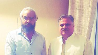 Prabhloch and Ajay Jamwal