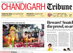 Chandigarh Tribune sep 21 2016