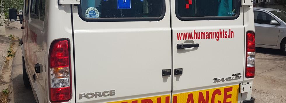 Hearse/Funeral vehicle cum ambulance