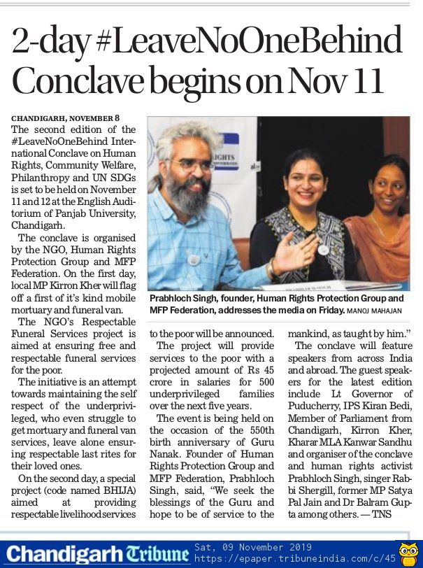 The Tribune - November 9, 2019