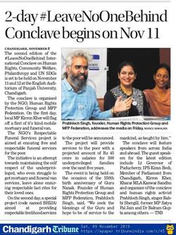 The Tribune - November 9, 2019