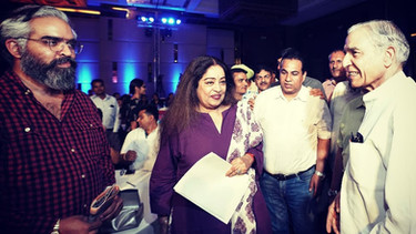 Prabhloch Singh, Smt. Kirron Kher and Shri Pawan Bansal