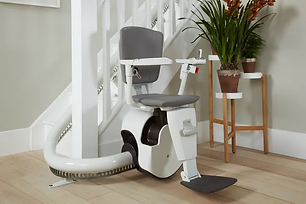 adapt my home - curved stairlift Cardiff