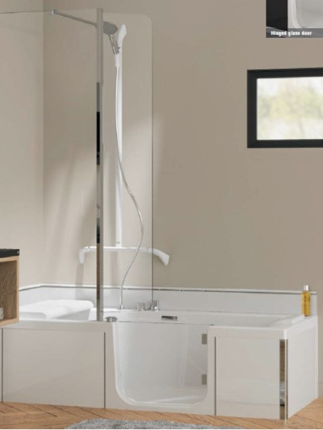 Kineduo Bath Front and End Panel White T