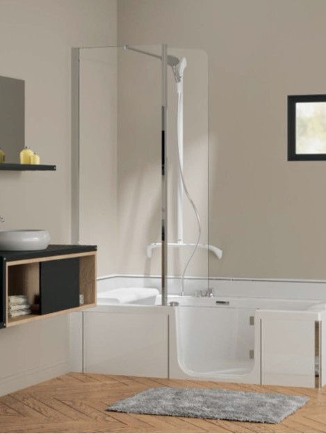 Kineduo Magnetic showerhead and T bar in