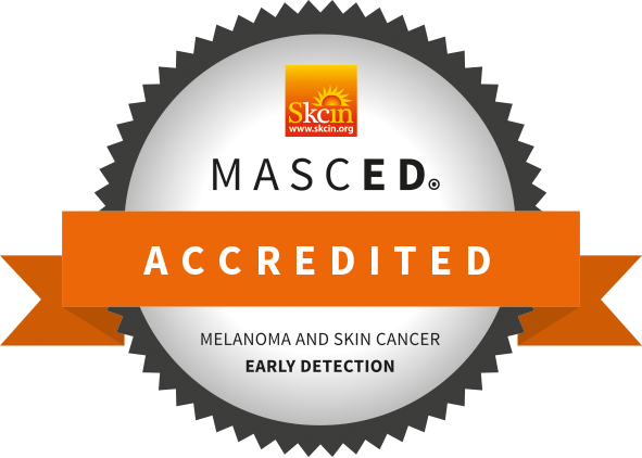 MASCED Accredited - Melanoma And Skin Cancer Early Detection