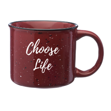 Choose Life 13oz Campfire Mug