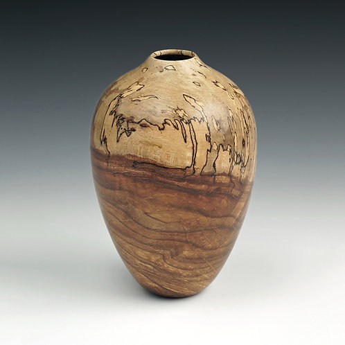 Spalted Pecan Hollow Form