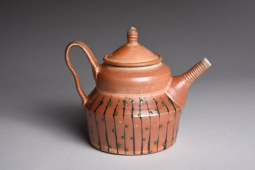 Teapot - Stripes and Dots