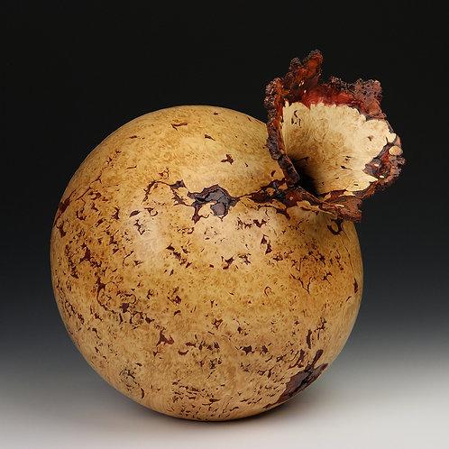 Maple Burl Flower Vessel