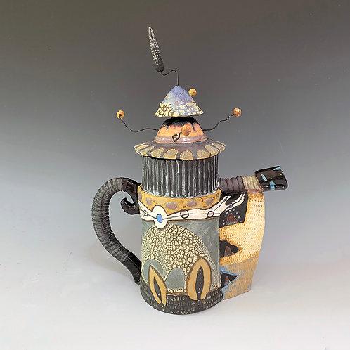 Double Lid Teapot