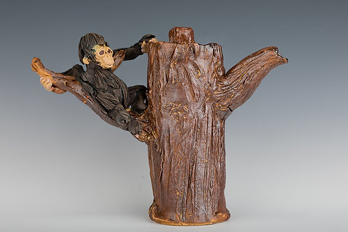 Chimp in a Tree Teapot