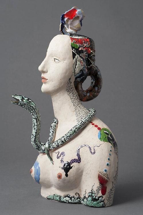 Lady with Snake ( Piero Di Cosimo)