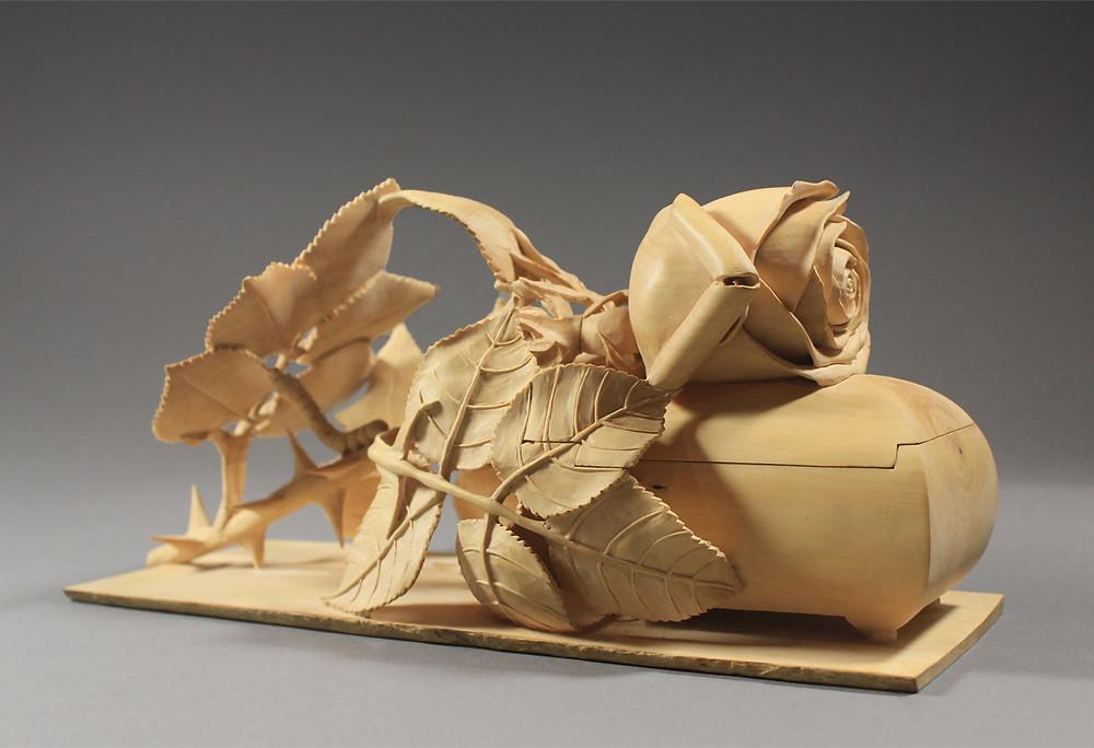 Rose Jewelry Box by Nairi Safaryan