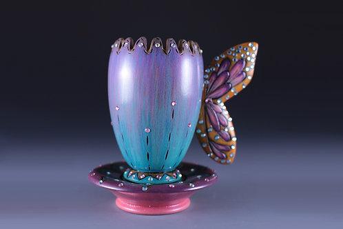 Tulip Sparkle Nectar Tea cup