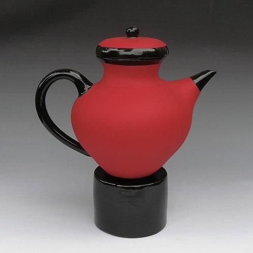Red Hot Tea Pot
