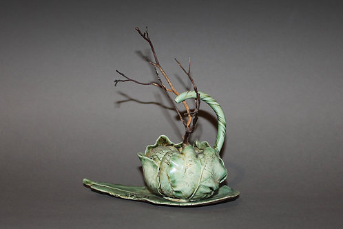 Cabbage Teapot
