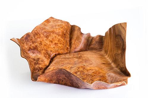 Burr Elm Platter Form