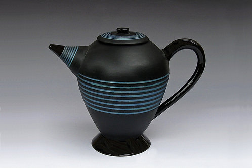 Concentric Rings Teapot