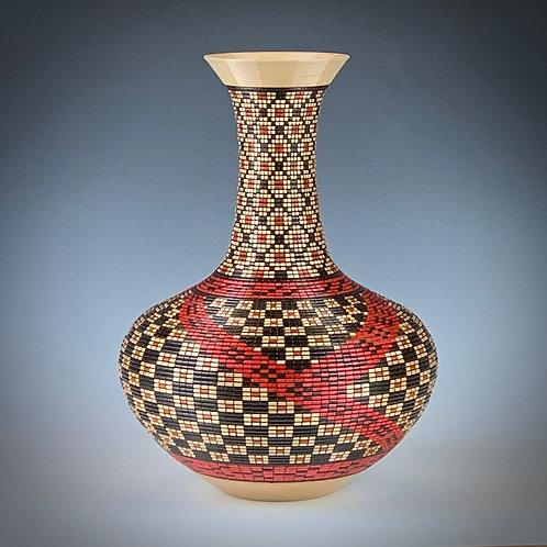 Pottery Illusion Vase #772