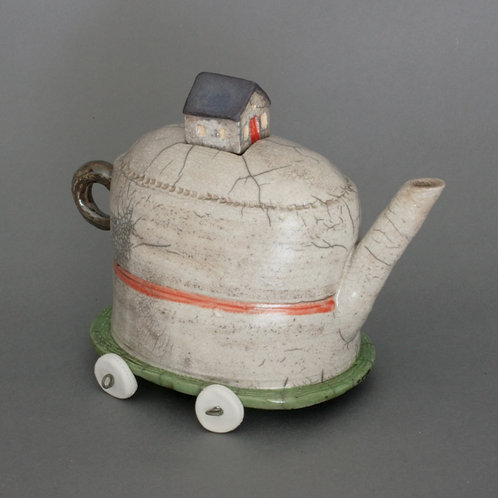 Tiny House Teapot