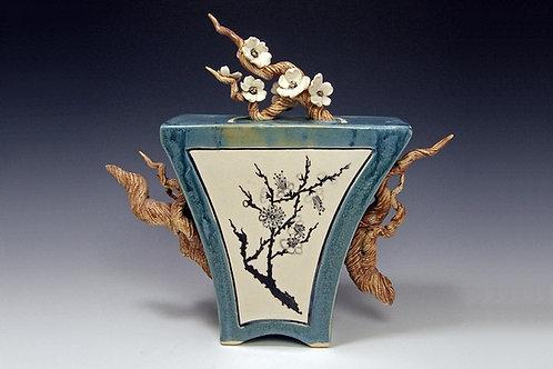 Box Plum Blossom Teapot
