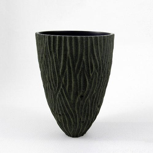 Textured Holly Vase