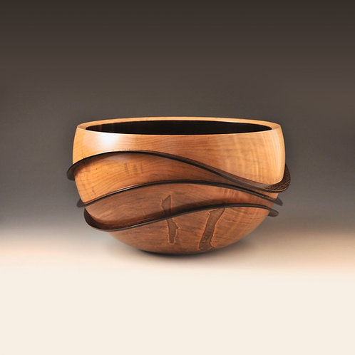 Protruding Rolling Waves Bowl