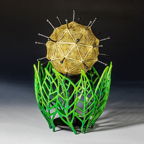 Geometallic Seedpod