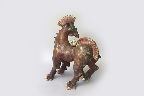 Horse with the Golden Teapot