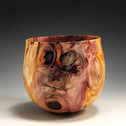 Yew Root Wood Small Bowl
