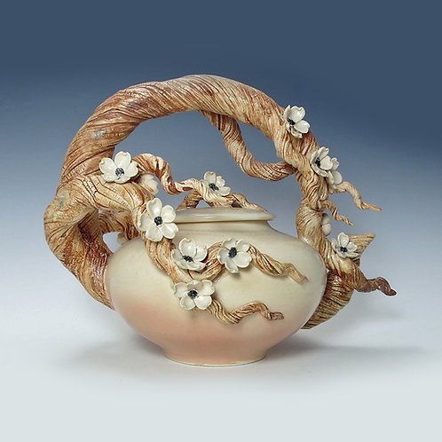 Plum Blossom Branch Teapot