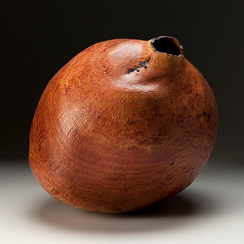 Madrone Aerial Burl Natural Edge Vessel